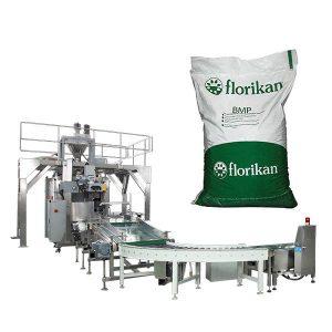 Empaquetadora automática a granel para leche en polvo en bolsas de 10kg 25kg