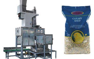 Semillas de grano abierto de 20 kg de ensacado de bolsas y escamas de llenado de bolsas