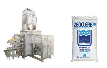 Máquina de envasado de sal de bolsa grande automática completa