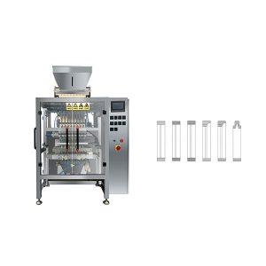 Máquina de envasado de 8 líneas, línea múltiple, barra de azúcar y azúcar