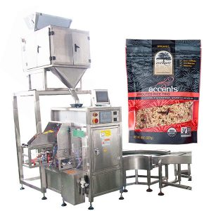 Máquina automática de llenado y sellado para café en polvo
