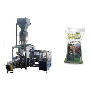 Empaquetadora química del fertilizante de los bolsos grandes automáticos del grano 50kg