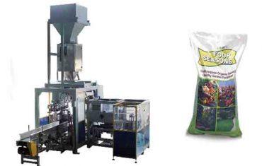 Empaquetadora de fertilizante químico de bolsa grande de 50 kg automática