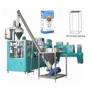 Máquina automática de embalaje de bolsas de papel prefabricadas