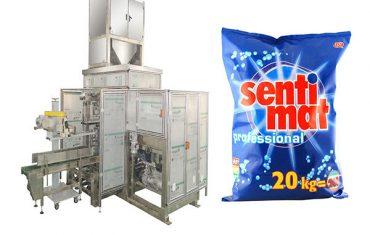 Máquina de envasado de bolsas grandes de detergente en polvo boca abierta premade bolsa grande