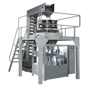 Línea de producción automática de llenado y sellado de gránulos predefinidos