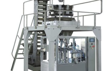 máquina de embalaje rotativa de granulado de peso de premezclado