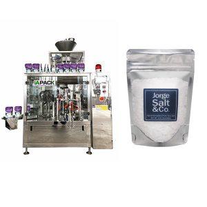 Empaquetadora rotativa automática de bolsas precocidas para sal