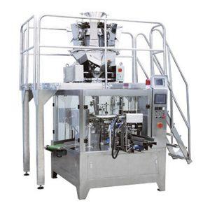Máquina automática de llenado de bolsas de fruta seca que hace el embalaje de la máquina