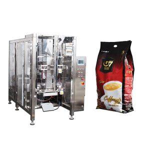 Máquina de envasado de café en forma de bolsa de relleno de relleno de bolsa