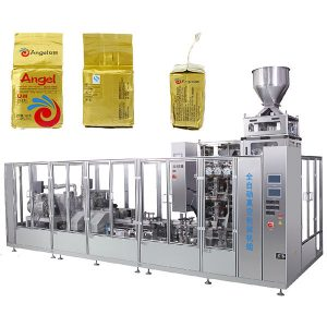 Máquina de envasado de bolsas de ladrillos al vacío de café