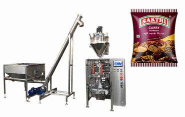 100g-500g máquina de envasado en polvo de curry
