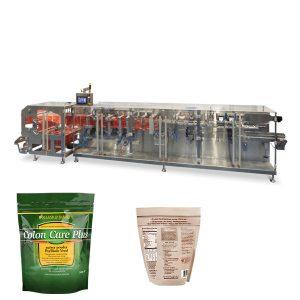 Doypack polvo gránulo embalaje forma horizontal llenado sello máquina