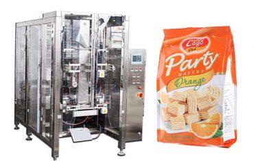 empaquetadora automática llena del bolso del sello del patio de la comida