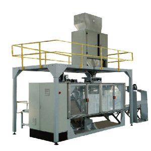 Máquina de envasado de alta automatización, llenado de bolsas grandes en polvo y línea de sellado, fácil operación