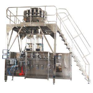 Empaquetadora prefabricada horizontal con escalas de cabezal múltiple para gránulos