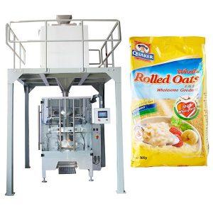 Máquina de empaque de harina de avena automática de peso lineal
