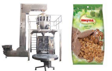 Máquina de embalaje vertical de nueces