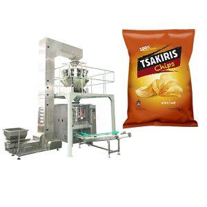 Máquina para empacar papas fritas