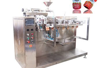 máquina de envasado de ketchup de bolsa pre-hecha