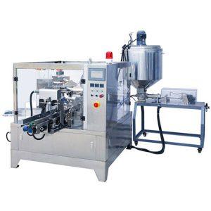 Máquina de envasado de líquido y pasta premade bolsa