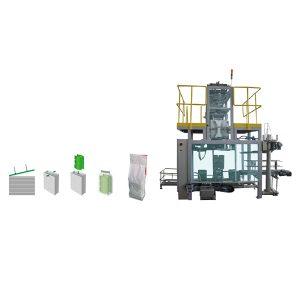 Bolsa de embalaje secundario en máquina de embalaje de bolsas de tejido de polietileno