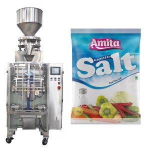 Empaquetadora de sal de bolsa de bolsita automática vertical