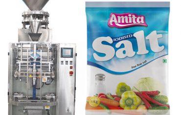 Empaquetadora de sal de bolsa de bolsa automática vertical