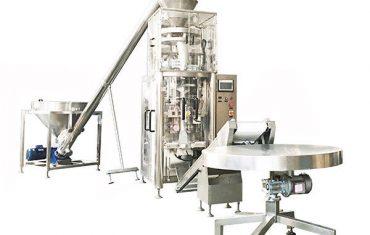 Máquina de sellado de llenado de forma vertical de gránulos con copa volumétrica