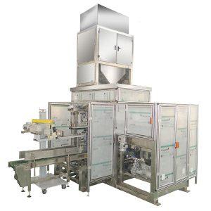 Empaquetadora de alimentación automática de bolsas ZTCK-25, Máquina de envasado de bolsas tejidas