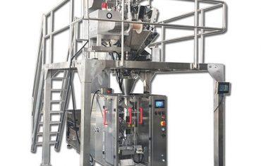 Empacadora vertical zvf-200 y sistema de dosificación de escala 10head