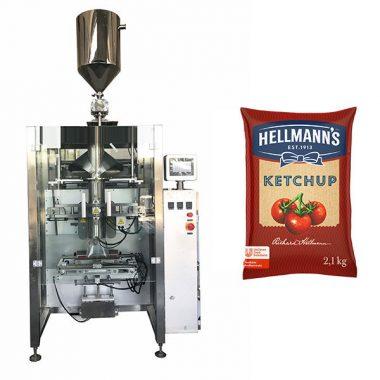 Empaquetadora de salsas de salsa de tomate 500g-2kg